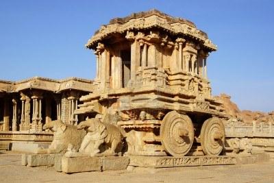 Stone chariot